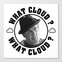 CREED - WHAT CLOUD? Canvas Print
