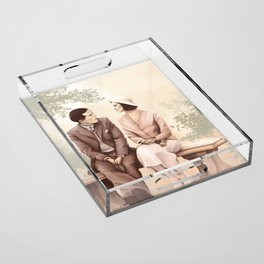Oh, rather! Acrylic Tray