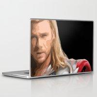 thor Laptop & iPad Skins featuring Thor by Thomas Knapp