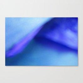 Blue Atmospheric Layers Canvas Print
