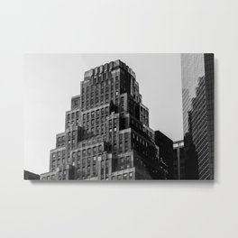 120 Wall Street in the Financial District of Lower Manhattan in New York City Metal Print