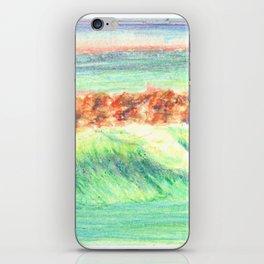 California in Crayon iPhone Skin