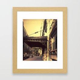 the life Framed Art Print