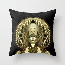 Egyptian Mask Throw Pillow
