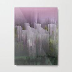 Melancholy / Floating Town / 30-11-16 Metal Print