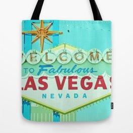 Vintage Vegas Sign - Las Vegas Sign Tote Bag