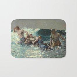 Undertow,  Winslow Homer Bath Mat