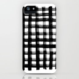 Harley Plaid 2 iPhone Case
