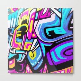 Graffiti 09 Metal Print