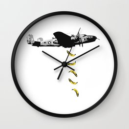 Banana Underground Wall Clock
