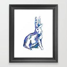 Paz Framed Art Print