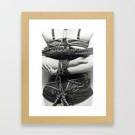 Rope work Framed Art Print