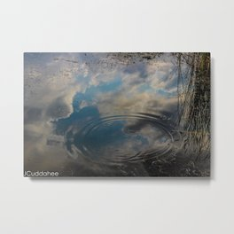 Reflecting Ripples at Royalton Ravine  Metal Print