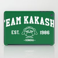 kakashi iPad Cases featuring Team Kakashi by Tsundere in the Sheets