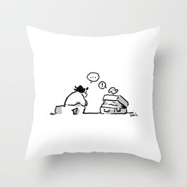 Discussion ... Throw Pillow