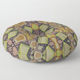 Shaman plaid Floor Pillow