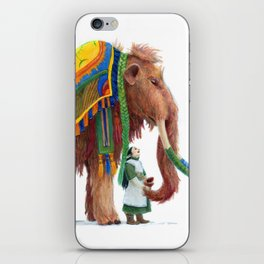 The Well Dressed Woolly Mammoth iPhone Skin