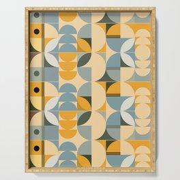 Soft Summer - Geometric Pattern Serving Tray