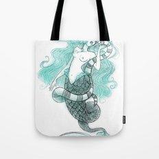 Mermaid's Sea Krait Tote Bag