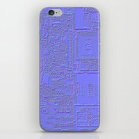 3d iPhone & iPod Skins featuring 3D by Cyrille Savelieff