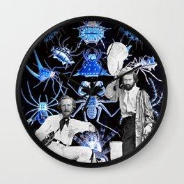 Haeckel's Cure for Arachnophobia Wall Clock