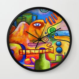 Mountains Wall Clock