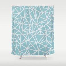 Ab Outline Salt Water Shower Curtain