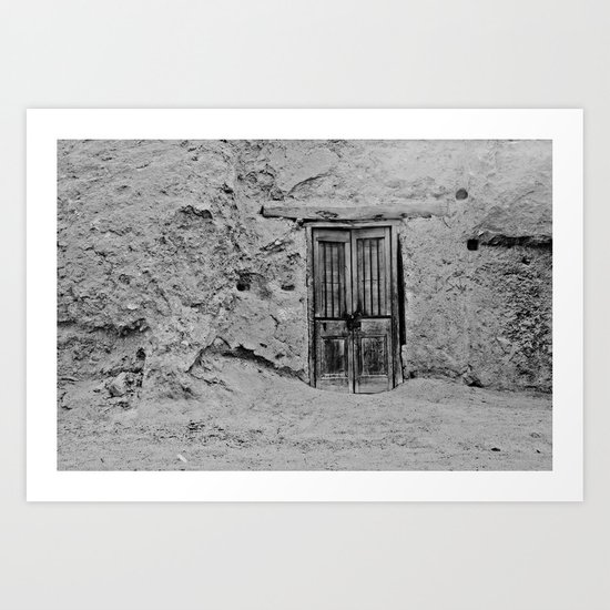 Door Leading (Nowhere?) Art Print
