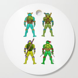 Superhero Butts - Turtles Cutting Board