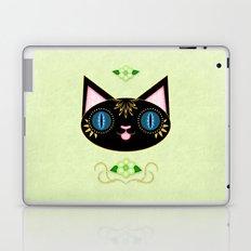 Blissful Black Cat Laptop & iPad Skin