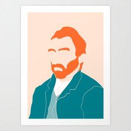 Vincent Art Print