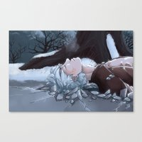 jack frost Canvas Prints featuring Jack Frost by Kiell R.