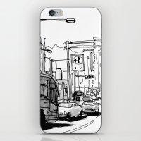 tokyo iPhone & iPod Skins featuring Tokyo by Jonas Ericson