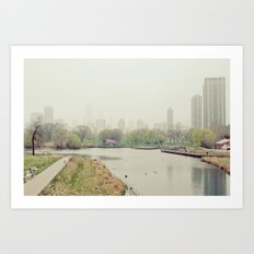 Chicago Fog Art Print