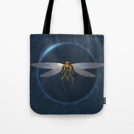 Steampunk Dragonfly Tote Bag