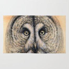 Great Grey Owl g041 Rug