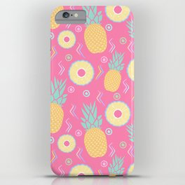 Pink Pinapple iPhone Case