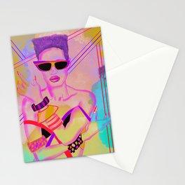 SAVAGE POSE Stationery Cards