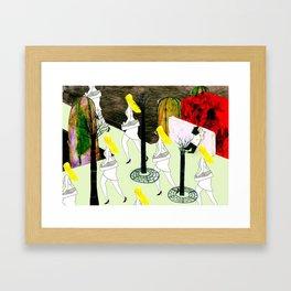 hot summer Framed Art Print