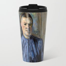 1895 - Paul Cezanne - Woman with a Coffeepot Travel Mug