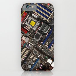 Computer boards iPhone Case
