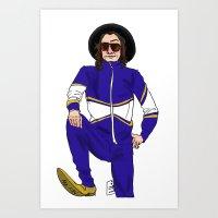 snl Art Prints featuring snl Harry by believeinbritboys