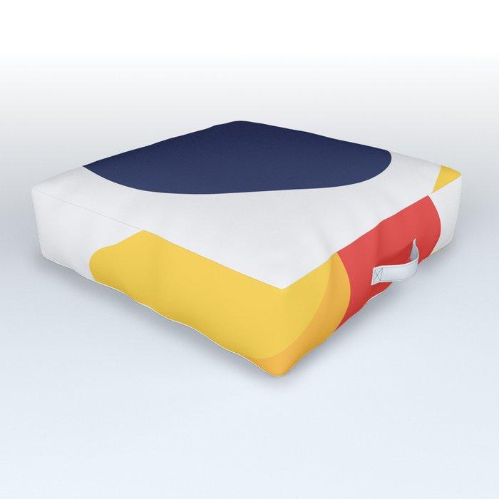 Abstract art XIV Outdoor Floor Cushion