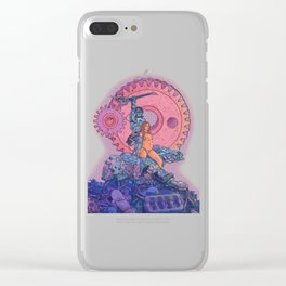 A Hero of Jupiter  Clear iPhone Case