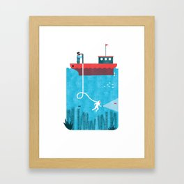 NAVIGATION MANUAL Framed Art Print