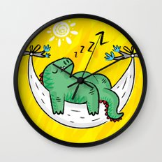 Dinosnore Wall Clock