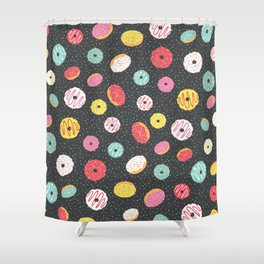 Donut Heaven Shower Curtain