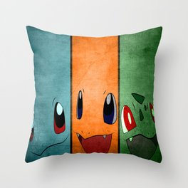 The Starters Throw Pillow
