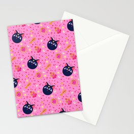 Chibi Moon Pattern / Sailor Moon Stationery Cards