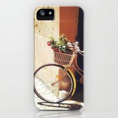 Yellow Bicycle Slim Case iPhone (5, 5s)